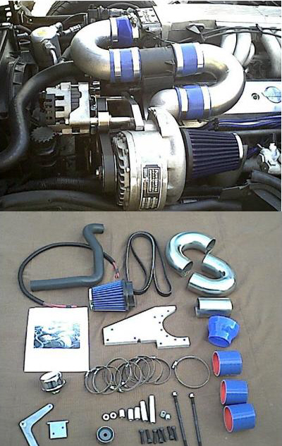 Powerdyne Supercharger in a C4 5/30/2008